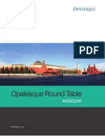 Opalesque Russia Roundtable