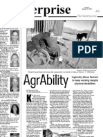 AgrAbility -- Farming despite disabilities