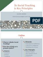 CatholicSocialTeaching&KeyPrinciples