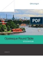 Opalesque Stockholm Roundtable