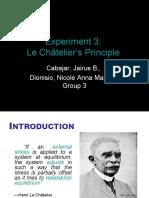 Expt 3-Le Chatelier's Principle