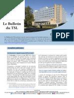 Bulletin du TSL - Décembre 2015