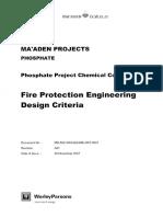 Fire Protection Design Criteria