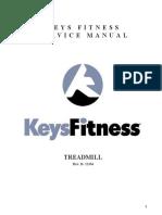 Treadmill Ironman Service Manual Rev. B