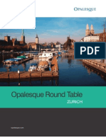 Opalesque Roundtable Series - Zurich