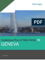 Opalesque Roundtable Series - Geneva' 09