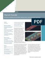 Siemens PLM Maruti Plant Layout