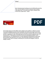 Glocalization Mcdonalds Kfc Way