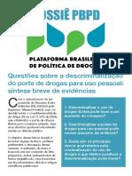 Dossiê Descriminalização STF