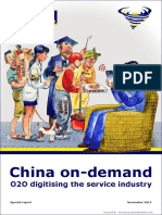 China on Demand (O2O Digitising the Service Industry) 031115