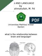 Brain and Language