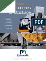 Conteneurs et Stockage Palamatic Process