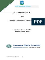 Intership Report in bank