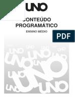 Conteudo Sociologia UNO