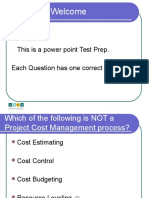 PM Test Prep PPT With Answers