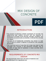 Mix Design Presentation
