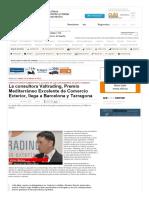 Noticia en Empresa Exterior - Apertura Barcelona y Tarragona