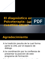 El Diagnóstico en Psicoterapia