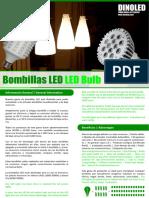 Bombillos Dinoled -Dossier Bombillas Sm