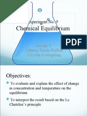 Expt 9-Chemical Equilibrium