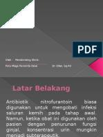 Fungsi Ginjal Dan Penggunaan Nitrofurantoin Pada Pengobatan Infeksi