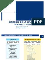 Sintaxis de La Oracic3b3n Simple 3c2ba Eso 2014 5