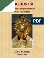 BOUYER, L.-Eucaristia, teología y espiritualidad de la eucaristía