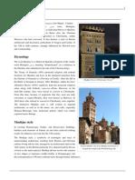Islamic Architecture- Mudéjar