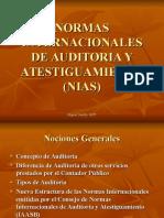 Normas Internacionales de Auditoria y Atestiguamiento