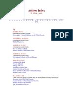 Author Index