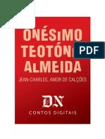 Jean Charles Amor de Calções - Onésimo T. Almeida