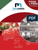 Food & Feed Palamatic Process