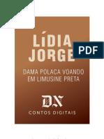 Dama Polaca Voando Em Limusine Preta - Lídia Jorge