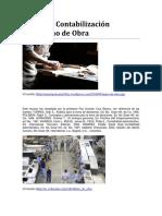 Control y contabilizacion de la mano de obra