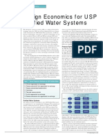 Design Economics for Usp Purified Water Systems