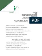 Clientes y Proveedores