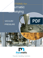 Pneumatic Conveying Solutions Palamatic Process