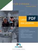 Station d'Essais Palamatic Process
