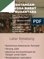 Kedatangan Bangsa Barat Ke Nusantara