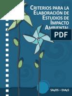 Guia Estudio de Impacto Ambiental