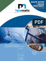 Waste Water Treatment Palamatic Process