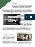 cocinas modernas integradas