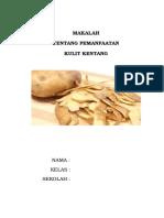 MAKALAH kulit kentang