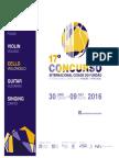 Concurso Internacional 2016 Rules Eng