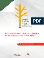La Indagacion Como Estrategia Ciencias Sociales Gran Maestra 2015 (1)
