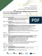 Dvodnevna međunarodna konferencija civilnog društva u Beogradu