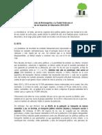 Propuestas para el Plan de Desarrollo de Villavicencio 2016-2019