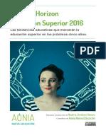 Resumen Horizon 2016 en español
