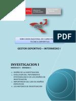 Investigacion i - Semana 1