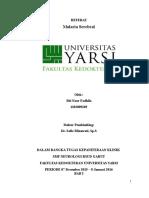 Referat Malaria Serebral Lady
